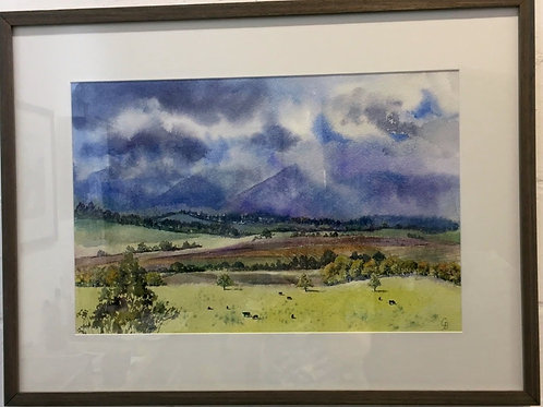 Glynis Brown | Passing Storm, Tarrawarra