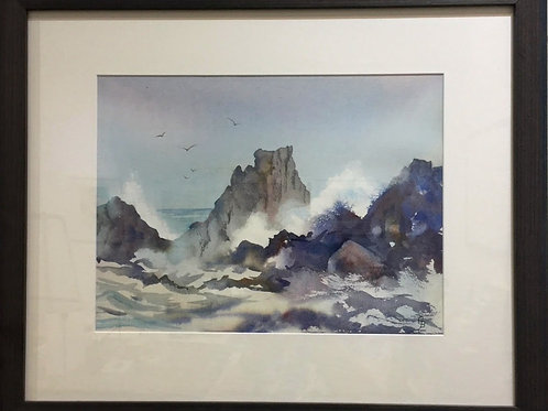Glynis Brown | High Tide, Cape Schanck