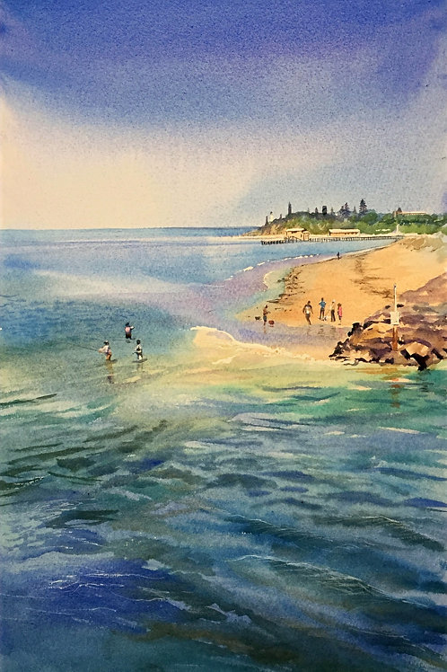 Glynis Brown | A perfect day at the beach