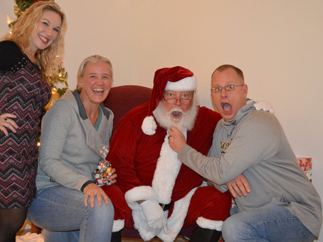 Town Center welcomes military families for a night of holiday magic