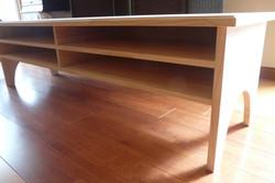 tv table pine