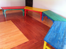 英会話教室テーブル