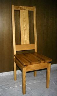 聖マリア教会の椅子
