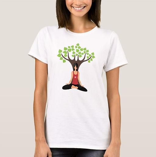 Eco Fitness Yoga TIme Women's T-shirt.jp