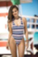Cute Nautical One Piece Swimsuit.JPG