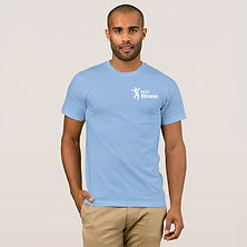 Men's-Eco-Fitness-Brand-T-Shirt-Light-Bl