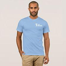 Men's-Eco-Fitness-Brand-T-Shirt-Light-Bl