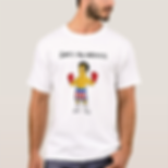 Eco Fitness Fighter Glove Men's T-shirt.