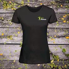 Eco-Fitness-Women's-T-shirt-Black-Editio