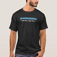 Eco Fitness Swimmer's World Men's T-Shir