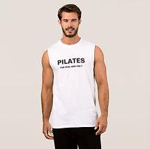 Eco Fitness Piltes men's sleevless t-shi