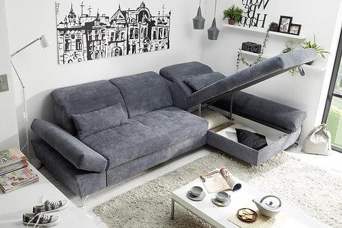 "Ecksofa ""Melfi"" Couch Schlafcouch Bettsofa inkl. Bettkasten"