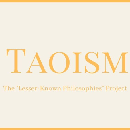 Taoism: The Chinese philosophy of the First Principle, Yin and Yang, & the Wu-Wei