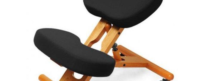 KW02 — деревянный коленный стул (для роста до 173 см)