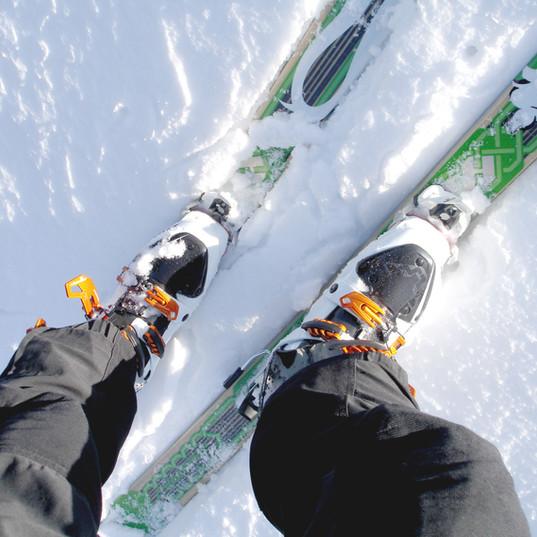 Ski Boots and pin bindings