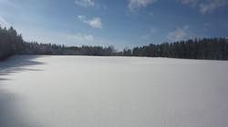 exterieur champ neige