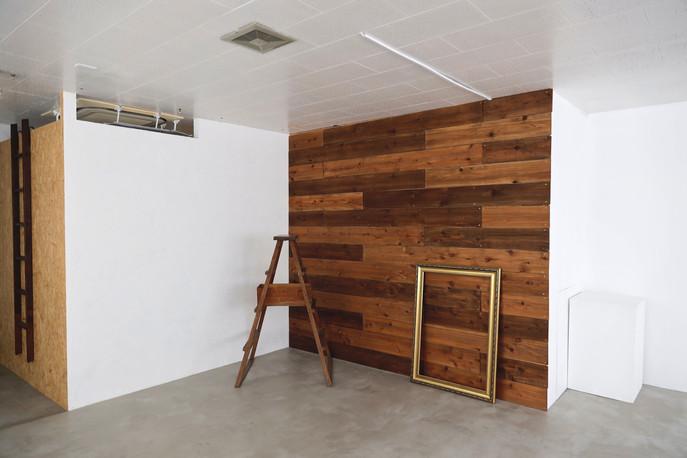 漆喰壁&板壁