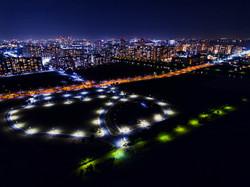 ドローン 空撮 夜景