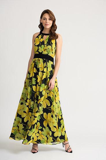 Joseph Ribkoff Black/Yellow Dress