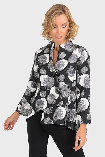 Joseph Ribkoff Black/Multi Jacket