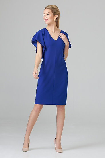 Dress with Capped Sleeves