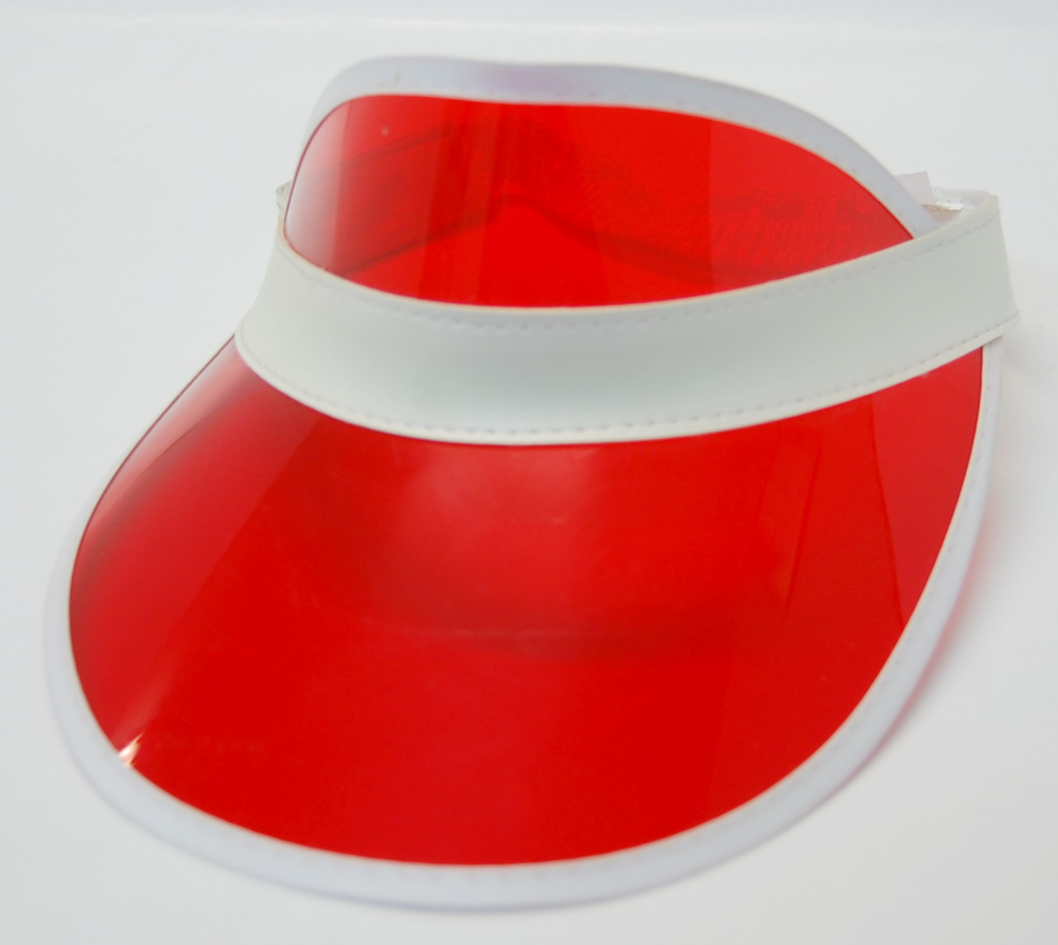 Poker Visor - Red