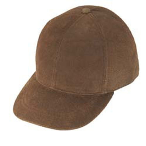 Distressed Leather Cap