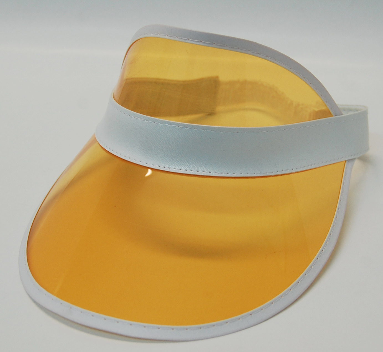 Poker Visor - Orange