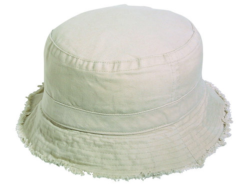 Kid's Garment Washed Cotton Twill Bucket Hat