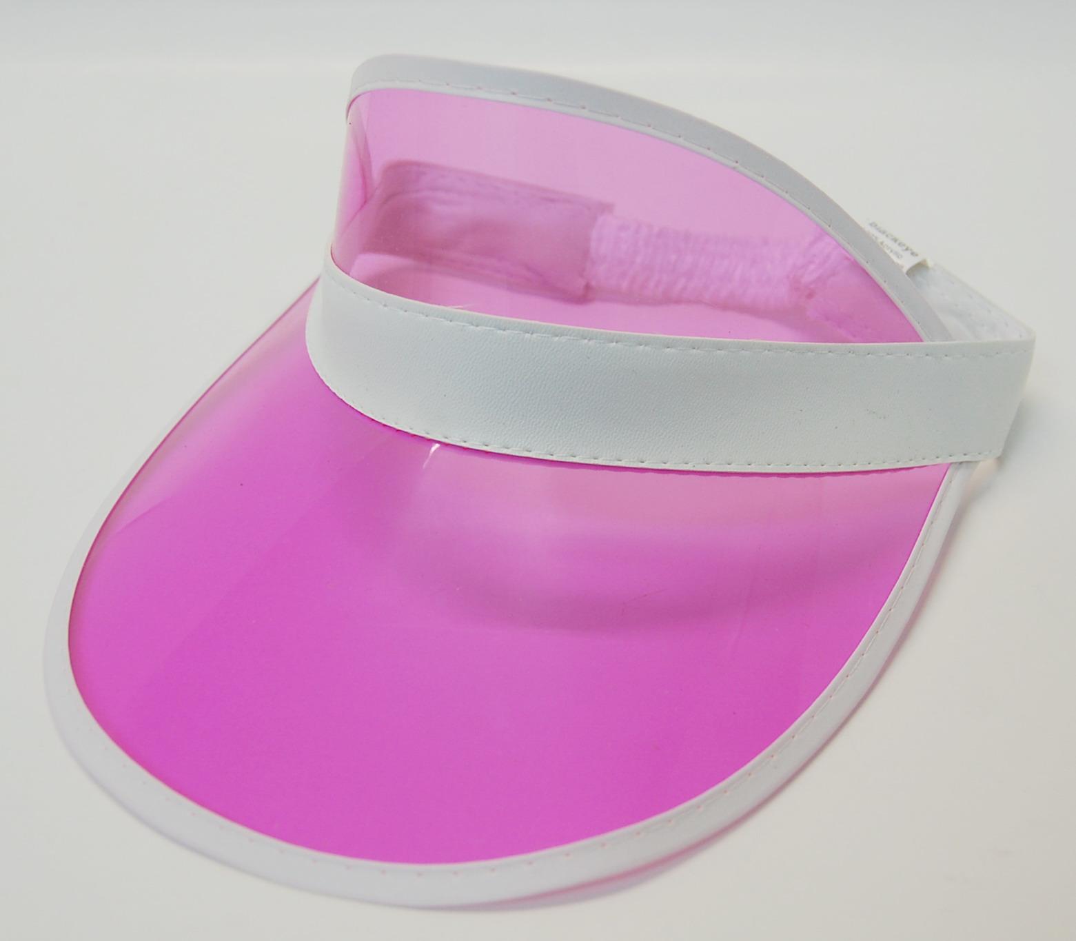 Poker Visor - Pink