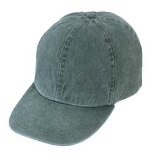 Kid's Garment Washed Pigment Dyed Cotton Cap