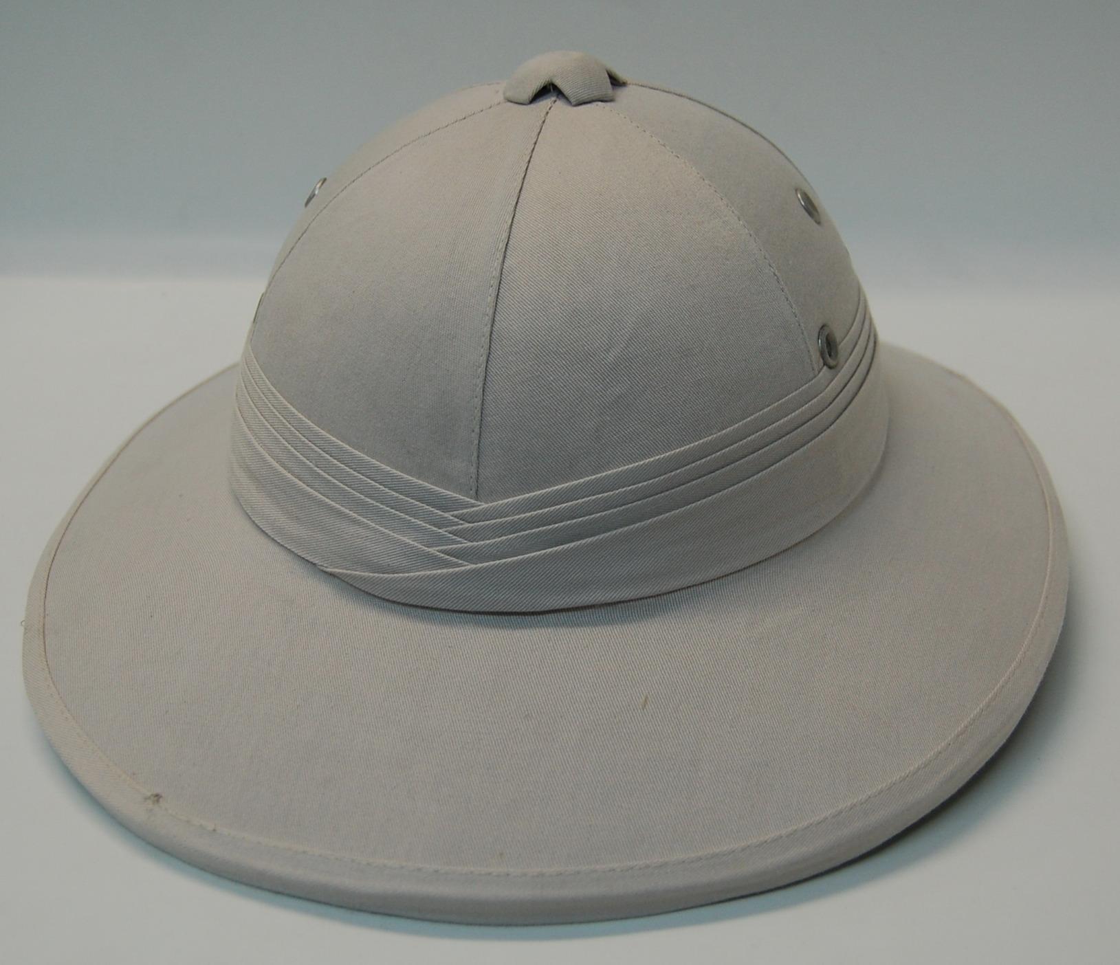 Pith Helmet Back