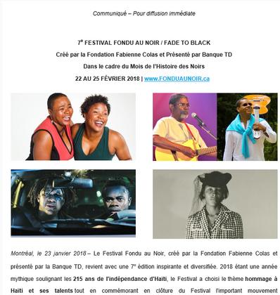 La programmation du festival Fondu au Noir est lancée!