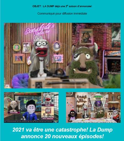 La Dump, déjà une 2e saison d'annoncée !