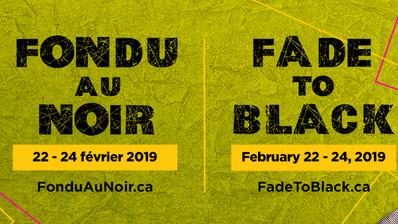Programmation du festival Fondu au Noir