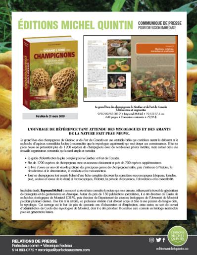 Le grand livre des champignons revu et augmenté