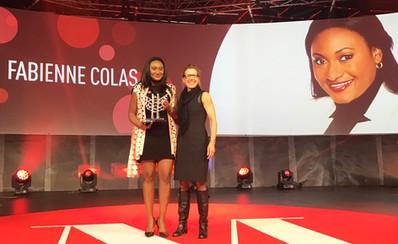 Fabienne Colas remporte le prix relève femme d'exception Énergie Valero, au 39E concours Les Mer