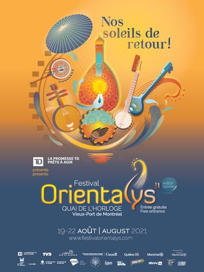 Dévoilement de la programmation Festival Orientalys