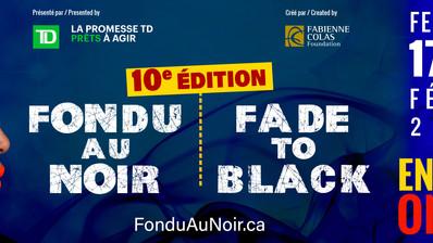 Le 10e FESTIVAL FONDU AU NOIR / FADE TO BLACK dévoile sa programmation