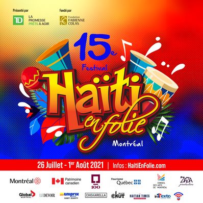 Dévoilement de programmation - 15e festival Haïti en Folie