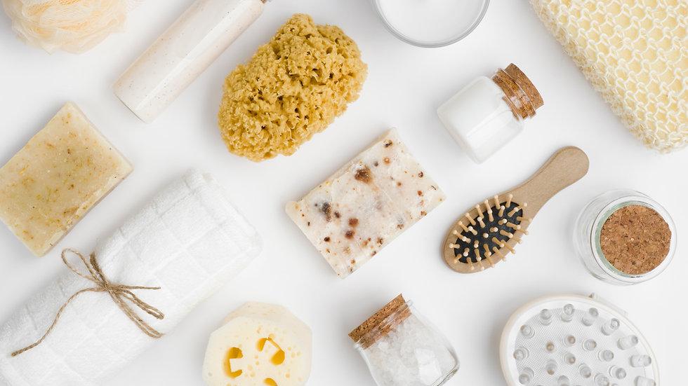 Elaboración Champú y Gel de Baño en cosmética natural