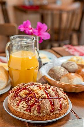 cafe da manha, Recanto Villa das Flores,