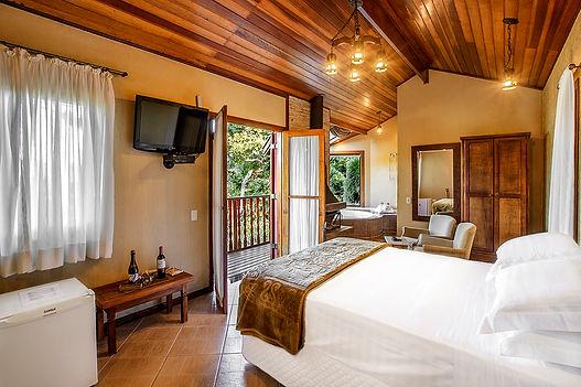 camas, quartos, Recanto Villa das Flores