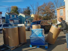 Packing barrels in New Jersey