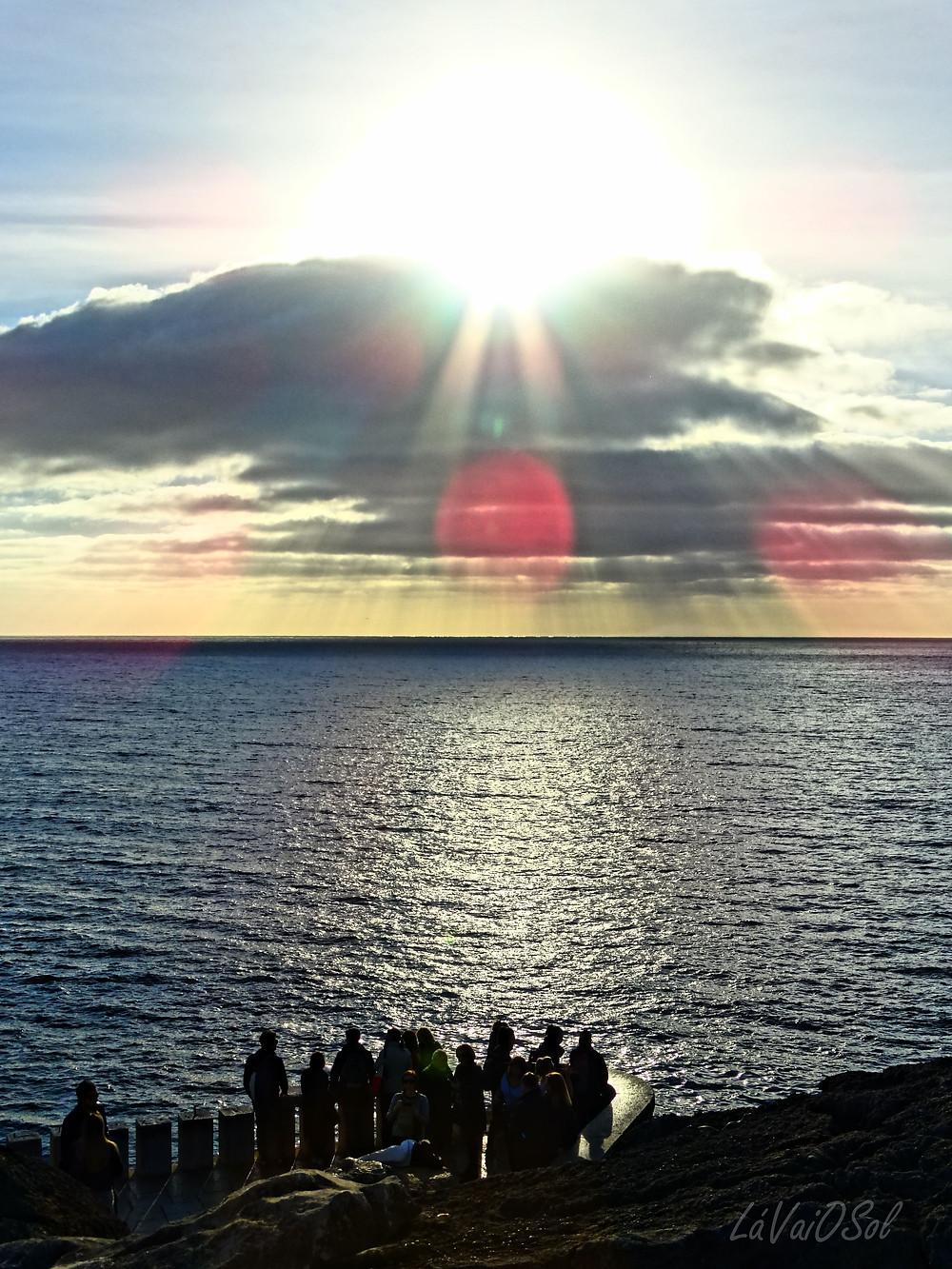 Pôr-do-sol em Cascais - Portugal