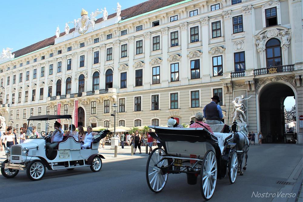 Palácio de Hofburg em Viena
