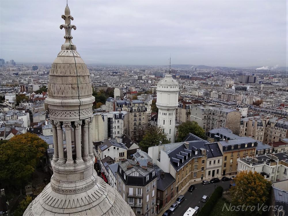 Vista da cúpula da Sacré-Coeur