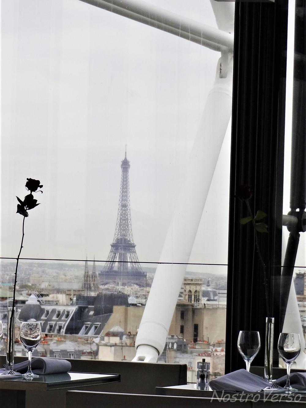 Vista do restaurante Georges no Pompidou