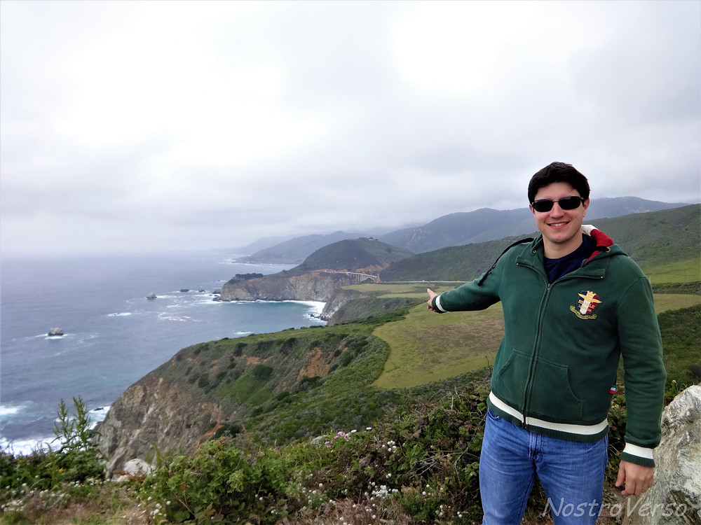 Bixby Creek Bridge - Big Sur - Rota 1