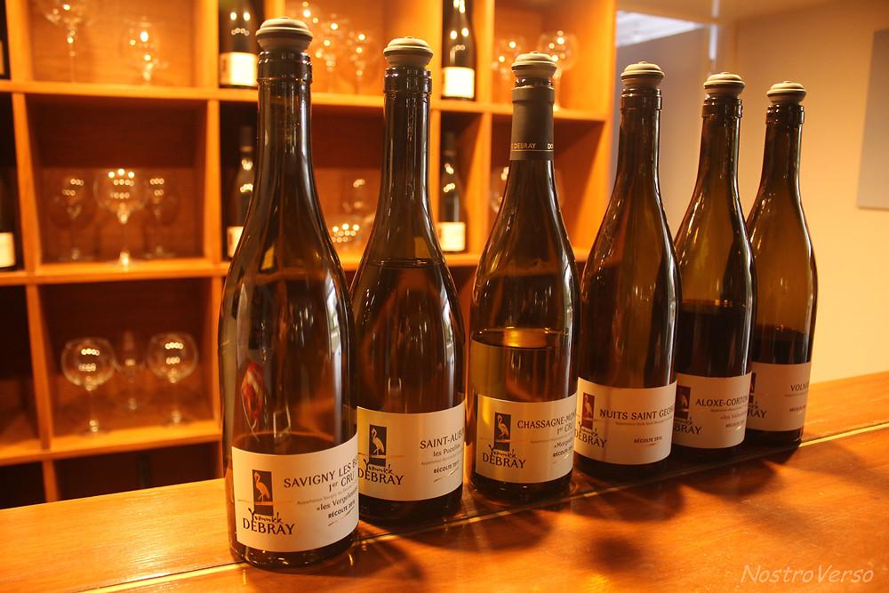 Degustação de vinhos na Domaine Debray